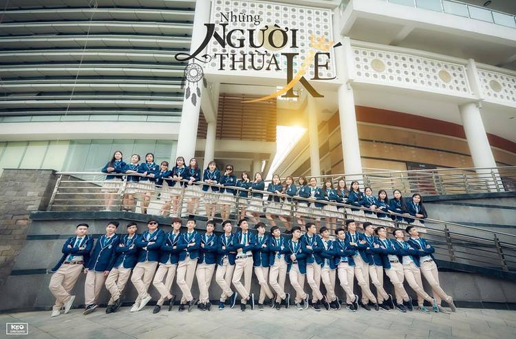 Bộ đồng phục của học sinh Hàn Quốc thu hút sự chú ý của nhiều người.