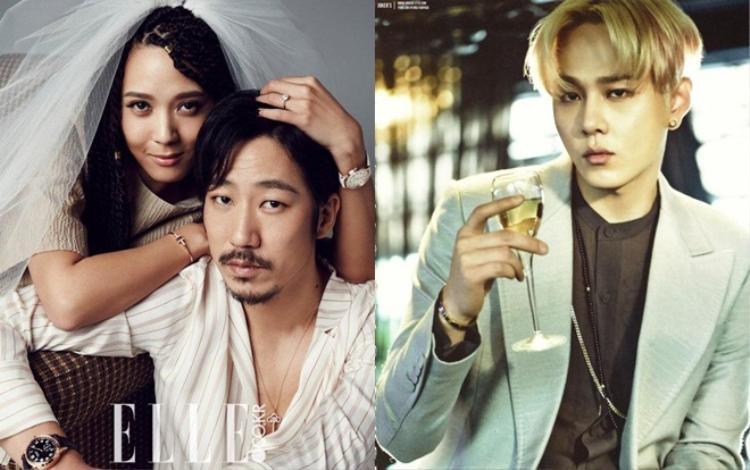 Yoon Mi Rae - Tiger JK và Yong Jun Hyung.