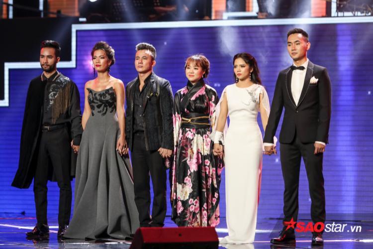 6 gương mặt ưu tú team HLV Như Quỳnh: Kevin Chính, Thanh Tuyền Ebony, Nhật Minh, Yuki Ánh Bùi, Hoàng Hải, Đoàn Tuấn Anh.