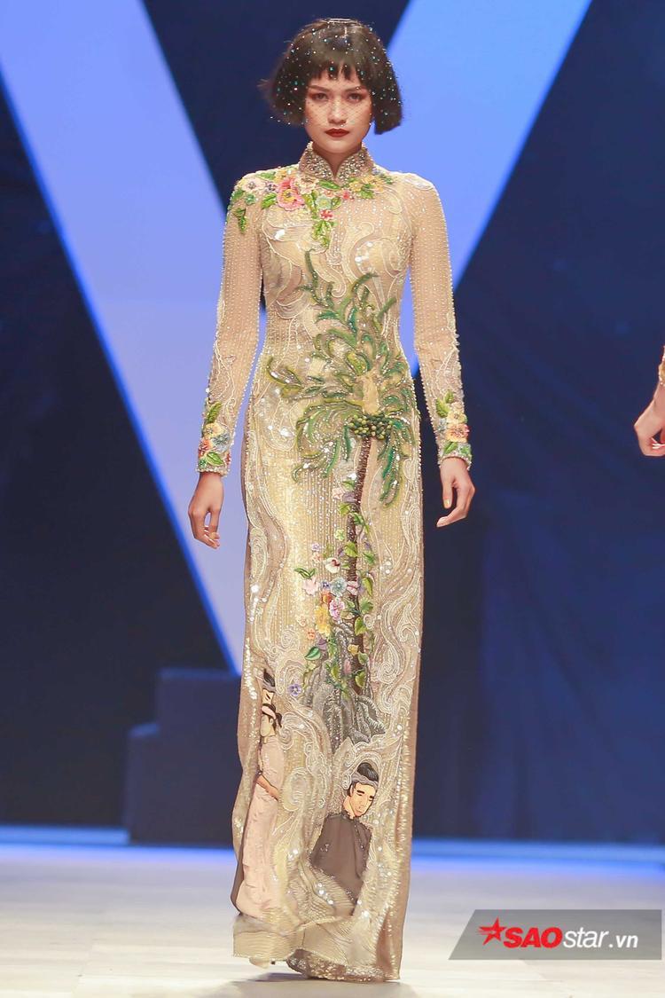 Những câu chuyện cổ tích từ lâu đã ghi dấu trong tâm khảm người Việt nay được Công Trí kể lại theo phương ngữ thời trang.