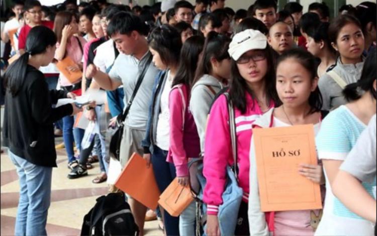Sau ngày 20/4, các thí sinh đã hết hạn đăng ký dự thi THPT quốc gia 2018, thí sinh không được thay đổi Điểm thi và các thông tin về bài thi/môn thi đã đăng ký. Ảnh minh họa.