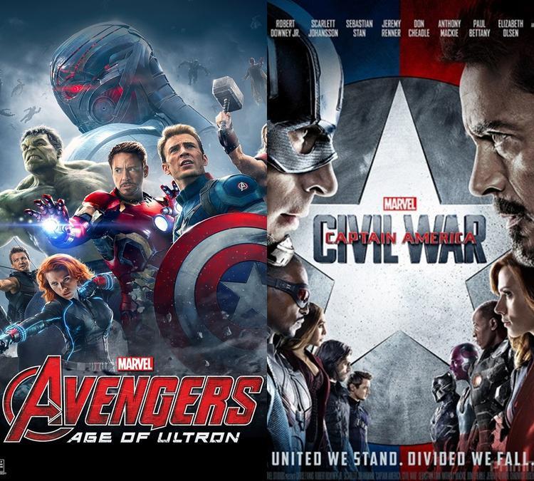 Age of Ultron và Civil War đành ngậm ngùi lùi bước về sau để Infinity War toả sáng.