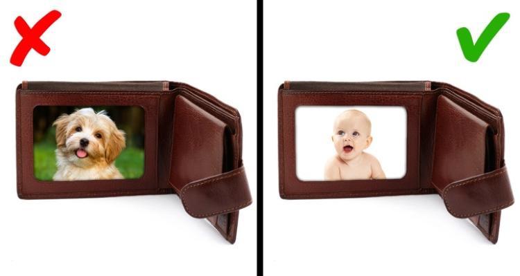 Tỷ lệ tìm lại chiếc ví bị thất lạc cao hơn nếu bạn đặt một chiếc ảnh có hình em bé bên trong. Ảnh: depositphotos