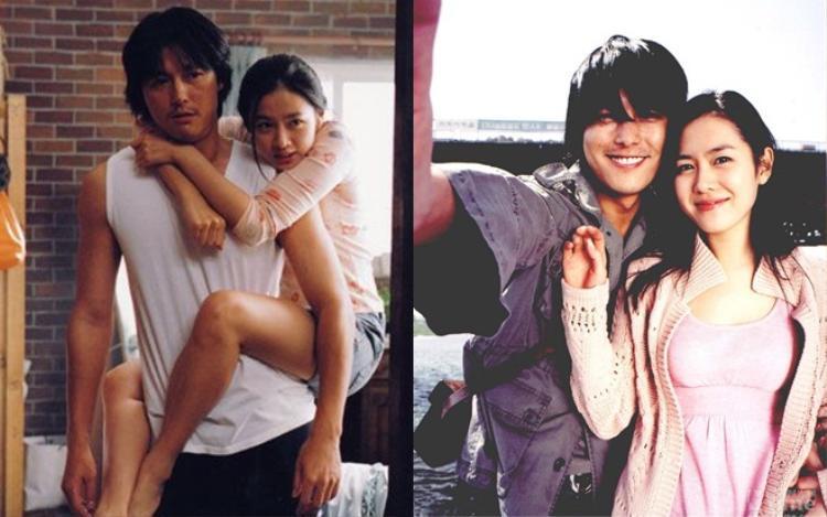 """""""Ông chủ"""" của công ty Artist - Jung Woo Sung từng sánh đôi với nữ diễn viên trong phim """"Khoảnh Khắc Để Nhớ""""."""