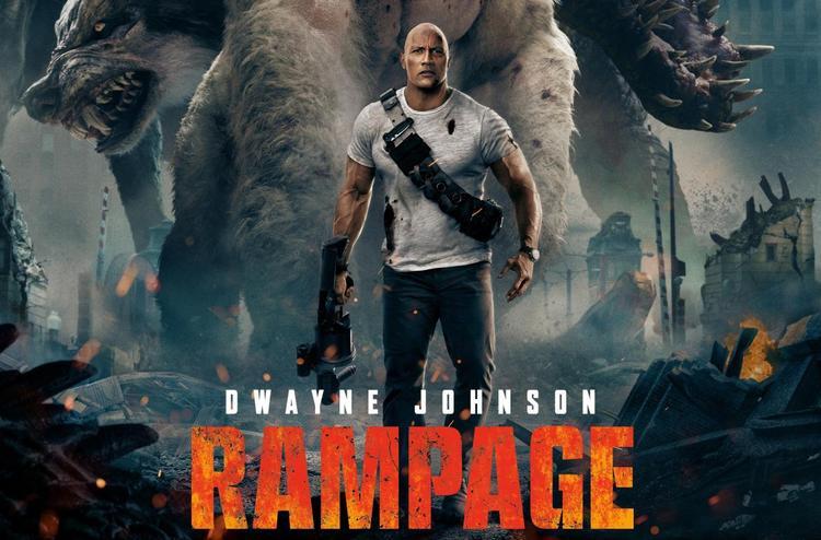 """The Rock đã có một năm tuyệt vời với """"Rampage""""…"""