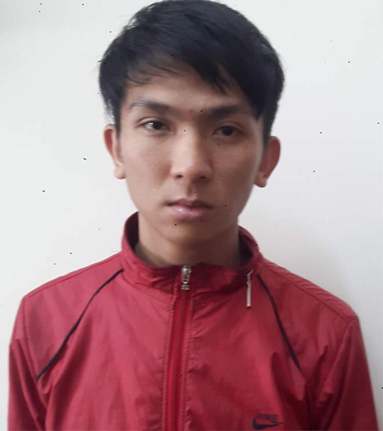 Trần Ngọc Thành tại cơ quan công an. Ảnh: Dân Việt.