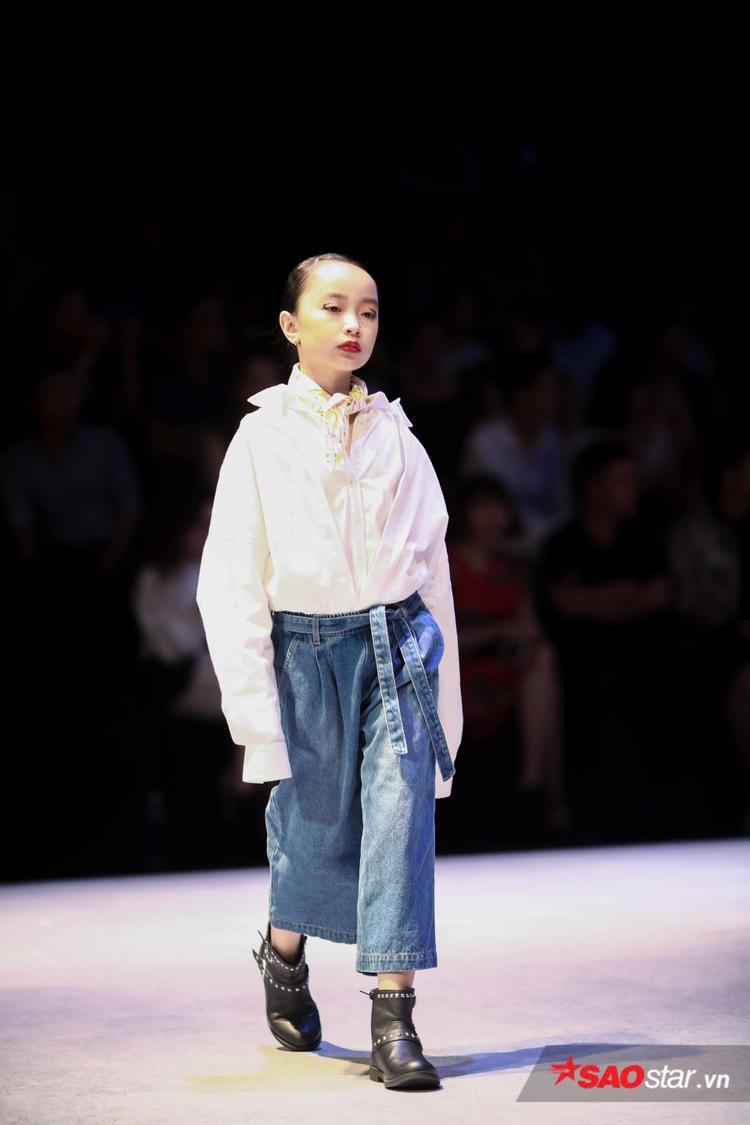 Quán quân Vietnam's Idol Kids Thiên Khôi cùng dàn mẫu nhí 'đổ bộ' sàn diễn, thần thái chẳng kém ai