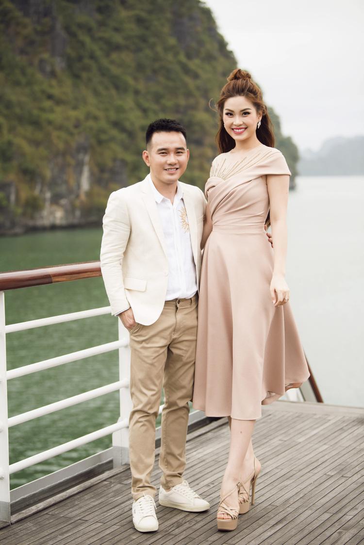 Á hậu Nguyễn Lâm Diễm Trang.
