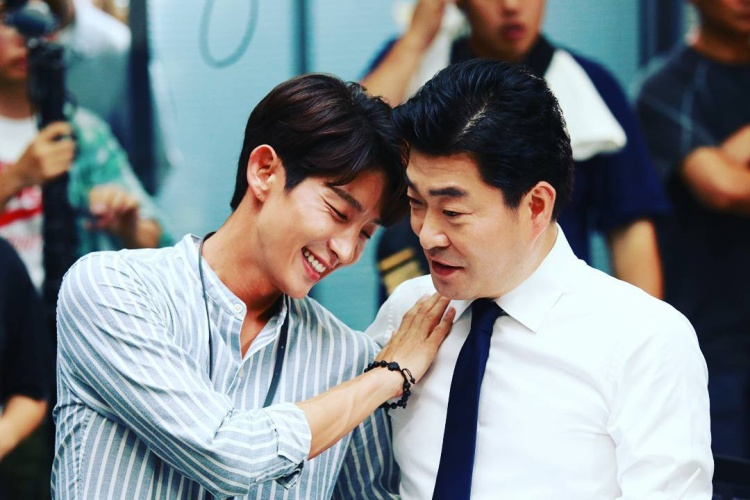 """Năm 2017, Son Hyun Joo hợp tác cùng """"Hoàng tử cổ trang"""" Lee Jun Ki trong """"Hành vi phạm tội""""."""