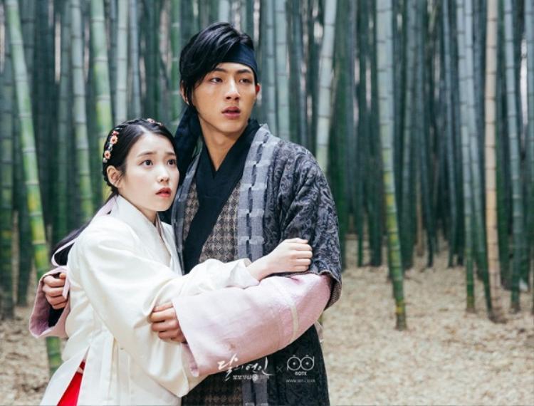 """""""Thập Tứ Hoàng Tử"""" Ji Soo thể hiện tốt vai diễn trong """"Người tình ánh trăng""""."""