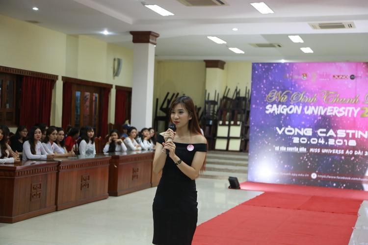 Đột nhập buổi casting Miss thanh lịch của Đại học Sài Gòn ngắm nhan sắc hút hồn của các nữ sinh