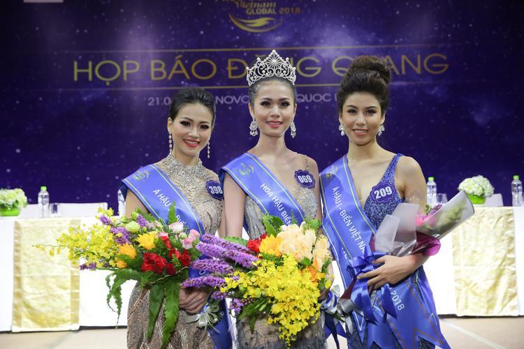 Top 3 Hoa hậu Biển Việt Nam Toàn cầu 2018.
