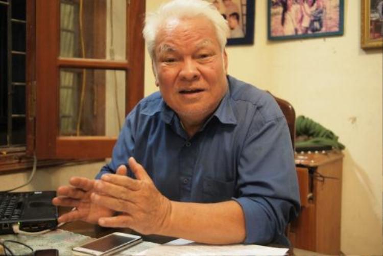 Tiến sĩ Vật lý Nguyễn Văn Khải lên án hành vi gây ảnh hưởng đến sức khoẻ con người trên.