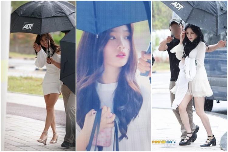 Sejeong, Chaeyeon và Kyulkyung.
