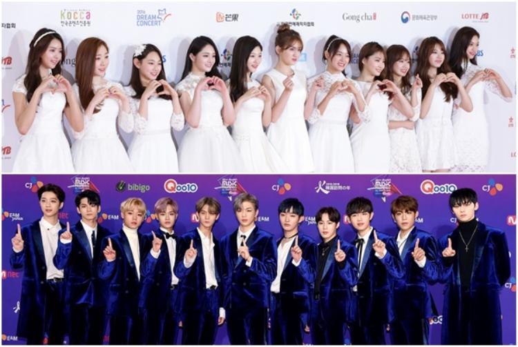 Girlgroup và boygroup chiến thắng 2 mùa Produce 101 xuất hiện với tư cách khách mời đặc biệt.