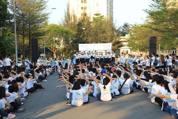"""Hơn 300 sinh viên có mặt tại """"Ngày Trái Đất 2018""""."""