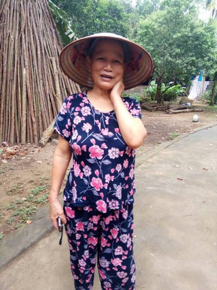 Bà Trần Thị Hiên, mẹ nạn nhân kể lại sự việc. Ảnh: Gia đình & Xã hội