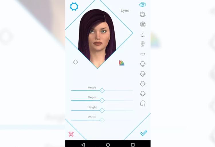 Ứng dụng đi kèm có tên Harmony AI đã có mặt trên Android. Người dùng có thể dùng nó để tạo ra một nhân vật bạn gái ảo có tính tùy chỉnh cao cùng mức phí 20 USD/ năm. Người dùng có thể tùy chỉnh tính cách, chất giọng hay các câu thoại của búp bê.