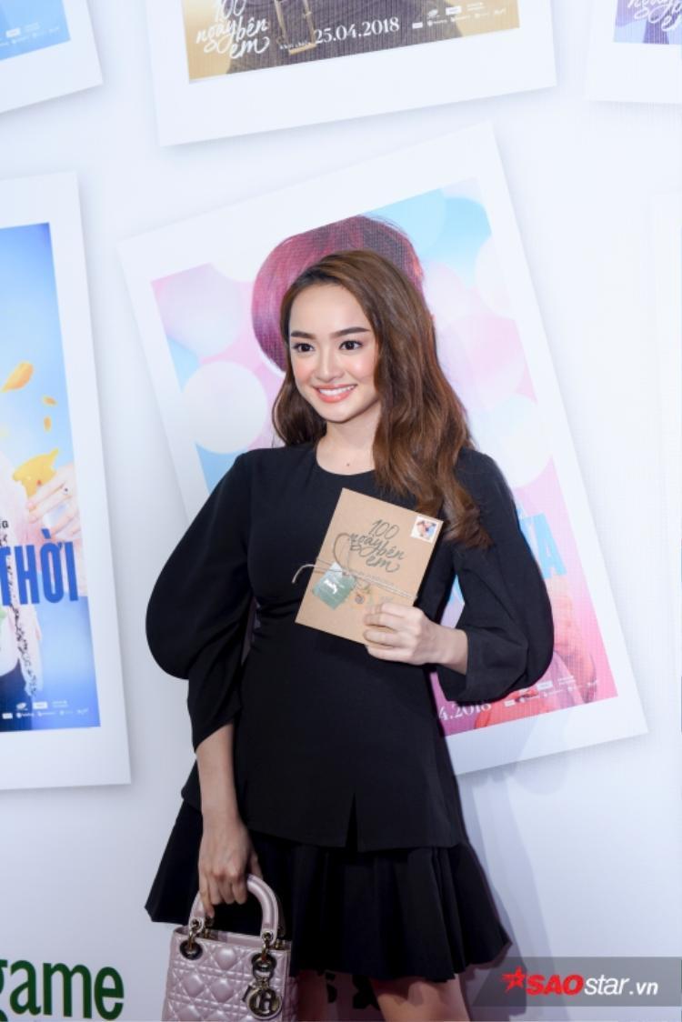Kaity Nguyễn xinh xắn trong sự kiện.