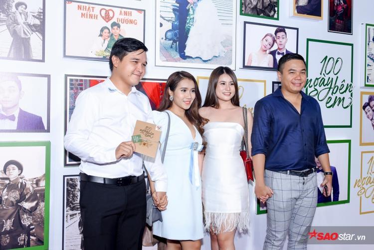 Đạo diễn Võ Thanh Hòa cùng bà xã