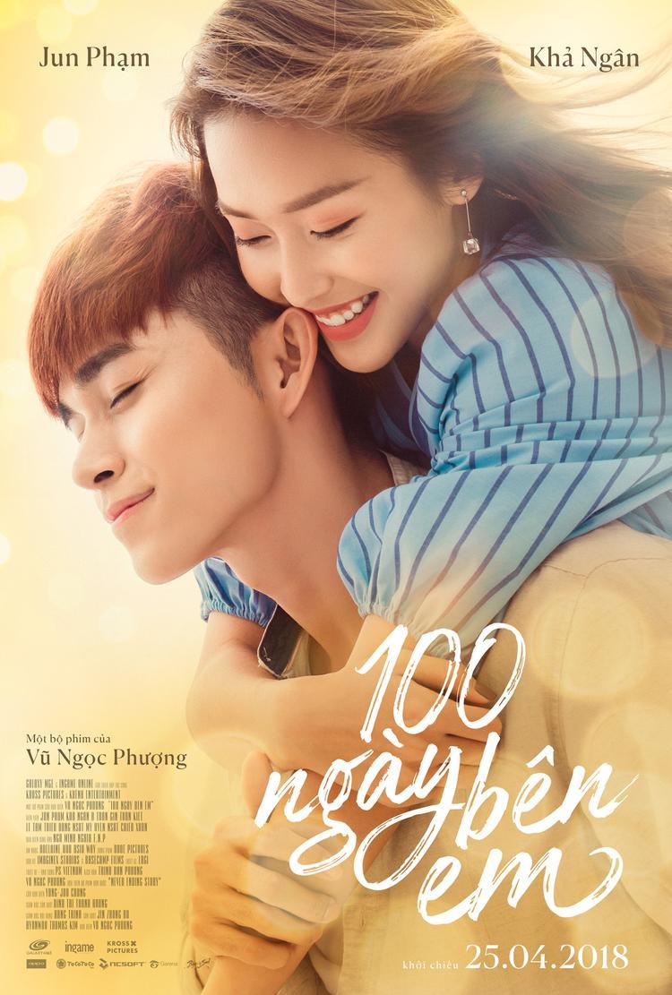 Rợp trời sao đến chúc mừng phim ngôn tình 100 ngày bên em của Jun Phạm, Khả Ngân, Gin Tuấn Kiệt