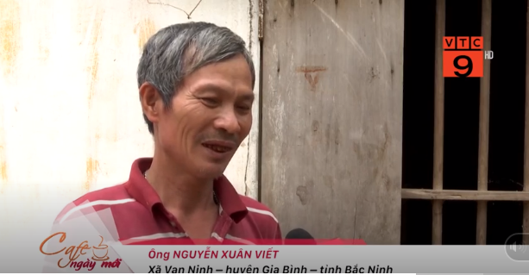Ông Nguyễn Xuân Viết là người thân của bà Đông, từng bị bà Đông lôi kéo gia nhập Hội nhưng bất thành. Ảnh cắt từ clip.