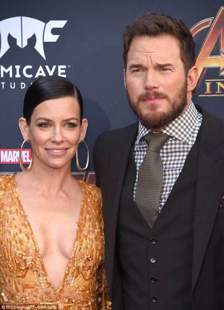 Evangeline Lilly và Chris Pratt