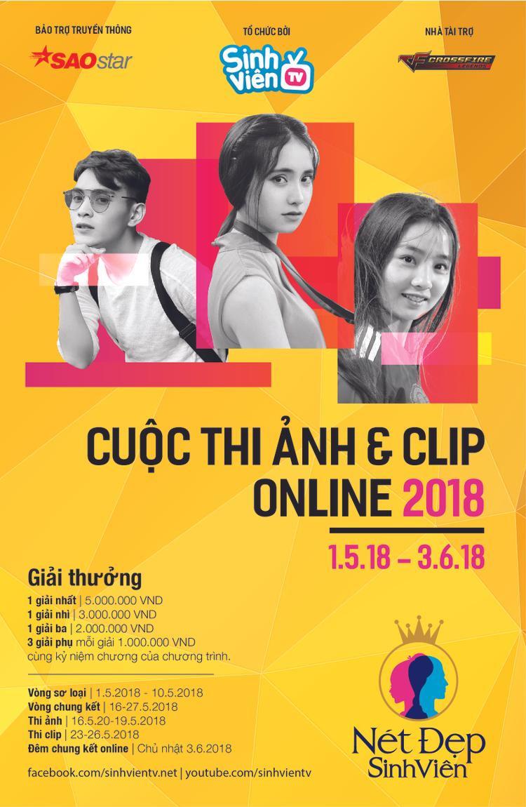 Chinh phục thử thách chụp ảnh sống ảo với cuộc thi online Nét đẹp sinh viên 2018 siêu hoành tráng