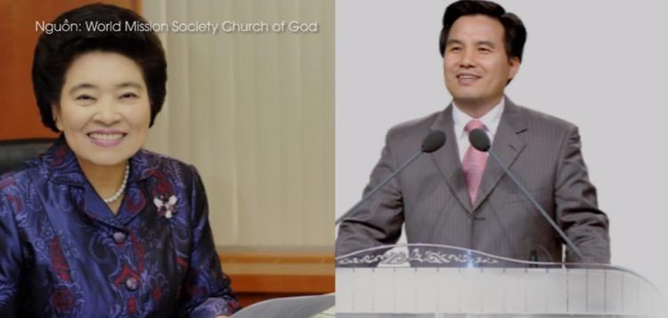 Kim Joo-cheol và Jang Gil-ja - hai người thành lập ra phong trào tôn giáo này.