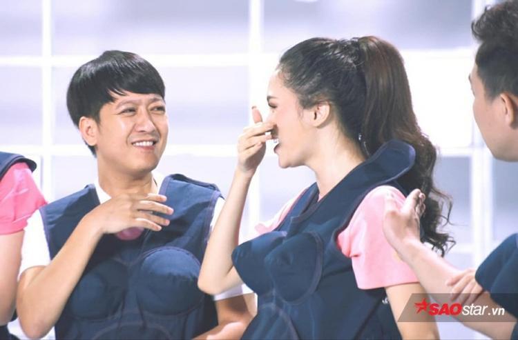 Hương Giang - Trường Giang là cặp đôi được nhiều người yêu thích trong Khi đàn ông mang bầu 2018.