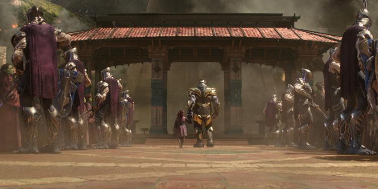 Thanos luôn xâm lăng các hành tinh mới và giết một nửa cư dân ở đó
