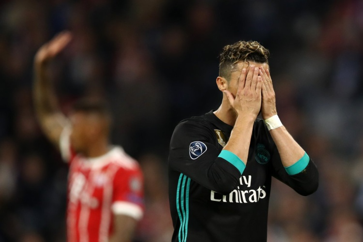 Bayern Munich  Real Madrid: Sự mờ nhạt đến đáng sợ của Cristiano Ronaldo