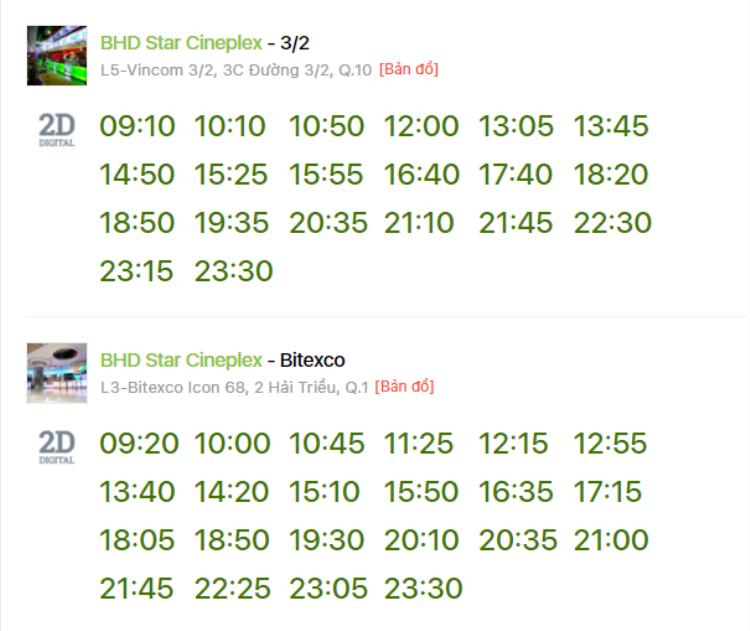 """Lịch chiếu """"Avengers: Infinity War"""" tại hệ thống rạp BHD ngày 27/4"""