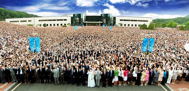 Các thành viênHội Thánh Đức Chúa Trời ở Hàn Quốc.