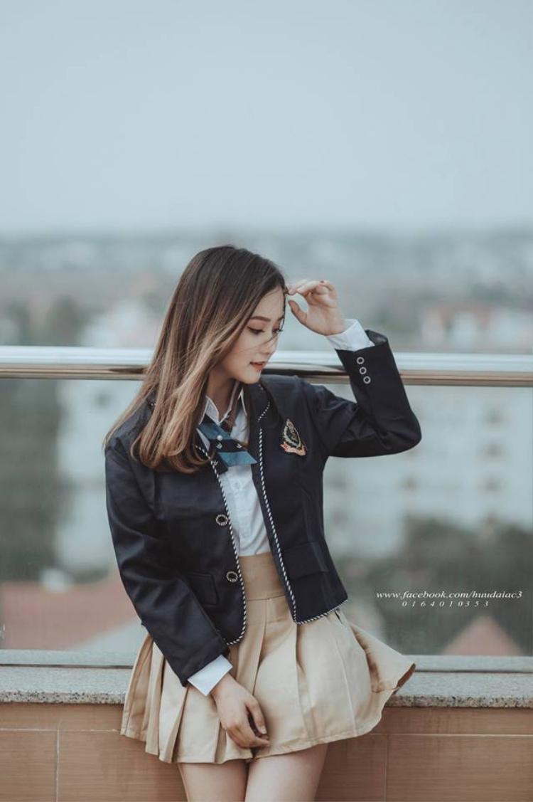 Nữ sinh Đắk Lắk có thành tích học tập luôn đứng top đầu trong trường.