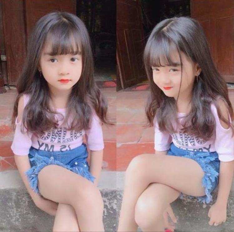 Từ bé em đã là hot girl trong lòng nhiều người rồi! Ảnh: Vũ Văn Phong.