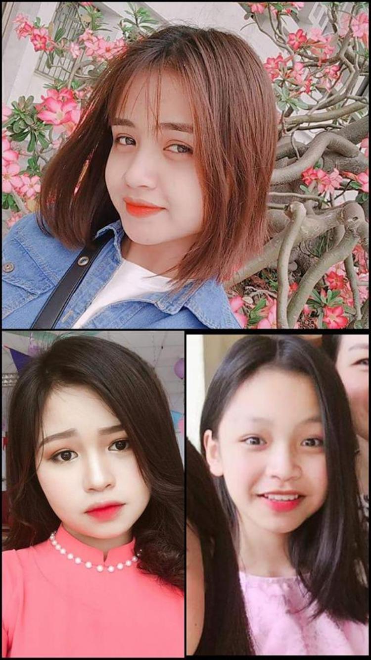 Nhà có hẳn 3 cô em gái! Ảnh: Thái Thị Phương.
