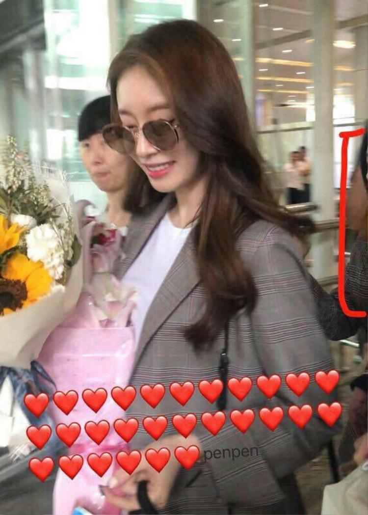 Hình ảnh Jiyeon bị bắt gặp tại Trung Quốc.