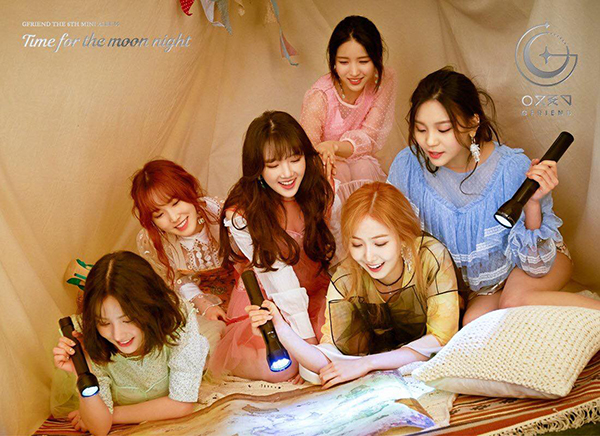 Bộ ảnh concept của G-Friend cho mini album thứ 6 Time for the Moon Night.