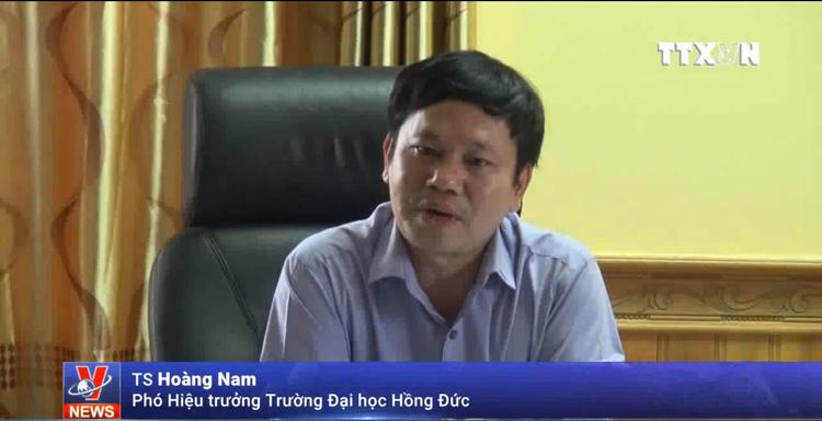 TS Hoàng Nam - Phó Hiệu trưởng Trường ĐH Hồng Đức.