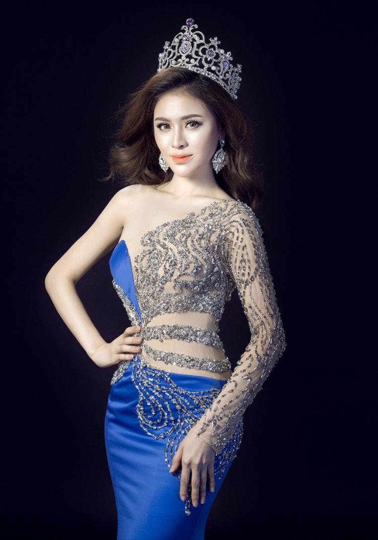 Nói tiếng Anh kém, Thư Dung vẫn đoạt Á hậu 2 tại Miss Eco International 2018