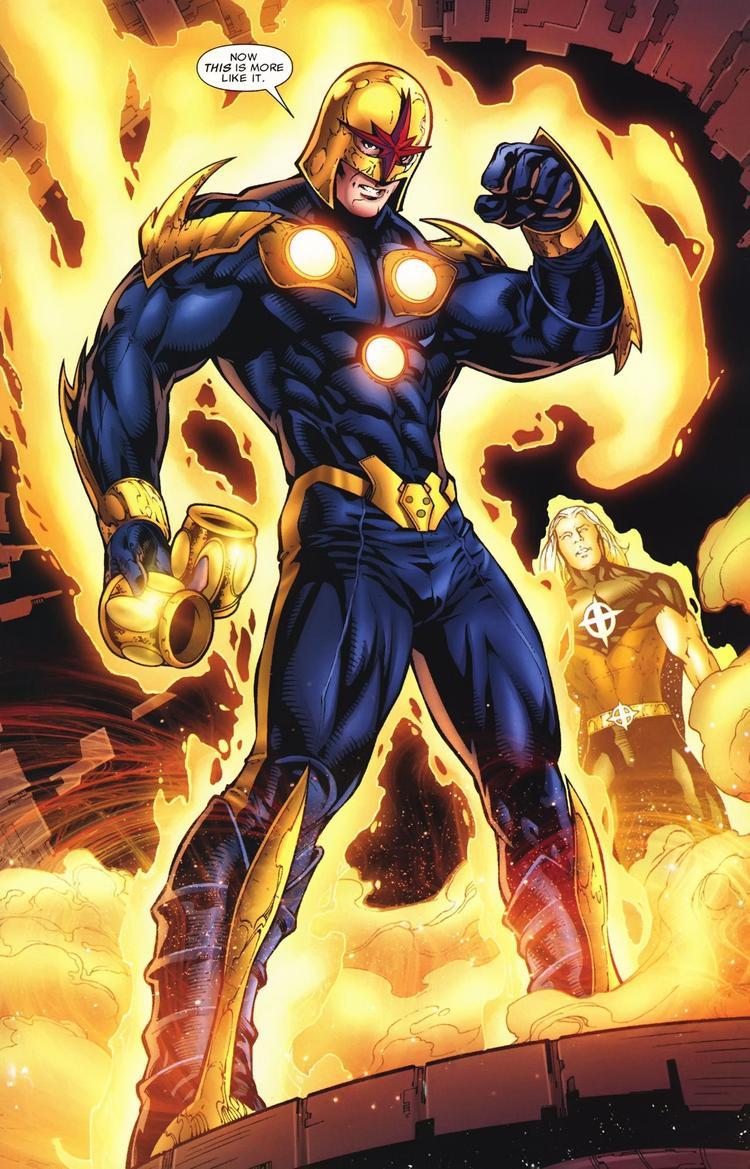 Kể từ đây, một siêu anh hùng mới mang tên Nova đã được tạo nên.