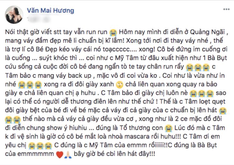 Sao Việt 'dính thính' Mỹ Tâm: Người mê mệt giọng hát, kẻ được 'nựng má' cũng 'sướng điên'