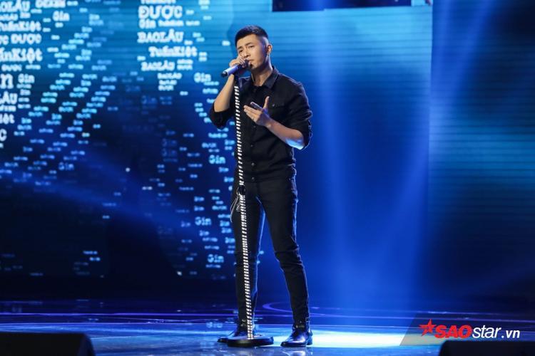 Gin Tuấn Kiệt đầy nam tính trên sân khấu Sing My Song vòng giải cứu.