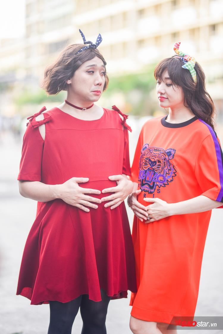 Trấn Thành - Hari Won: Cặp đôi đầy màu sắc tại Khi đàn ông mang bầu.