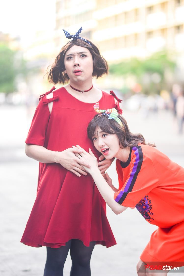 Hari Won  Kỳ Duyên: Ai sẽ là bà xã của năm trong hậu trường MV Manbirth?