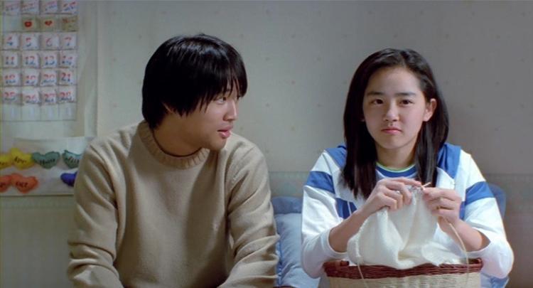 """Vai diễn em gái của Cha Tae Hyun trong """"Lovers' Concerto"""" năm 2002."""