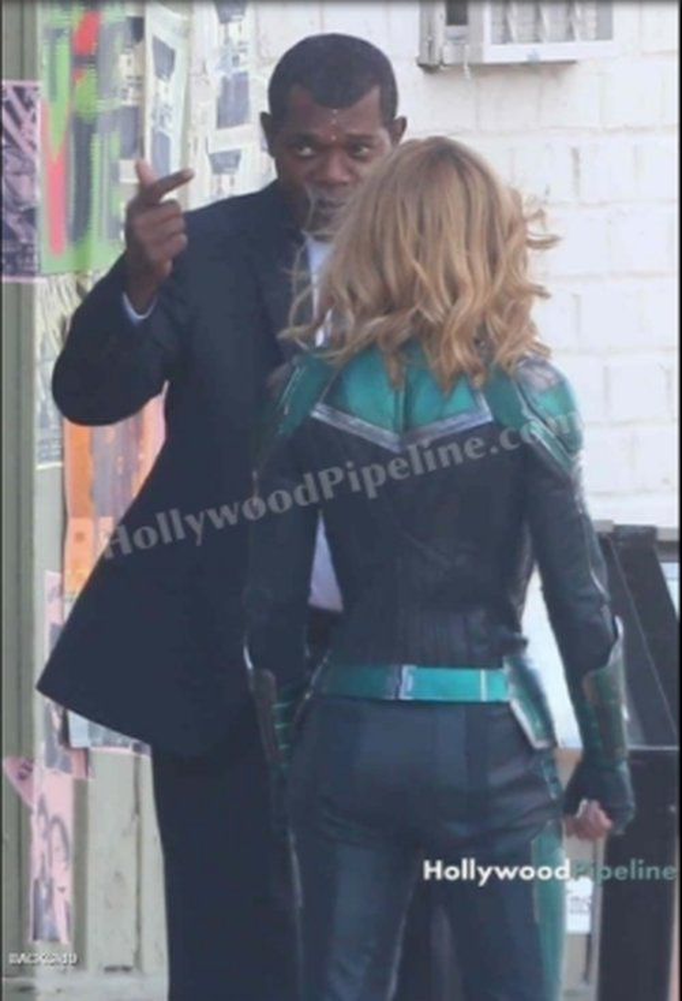 Avengers: Infinity War đang là tâm điểm chú ý, Captain Marvel tung thêm loạt ảnh hậu trường