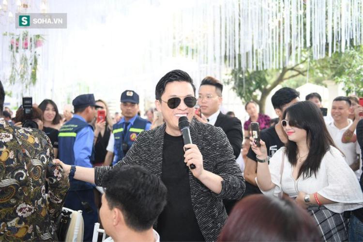Anh hai Lam Trường xuất hiện trong đám cưới Hữu Công. Ảnh: Soha.