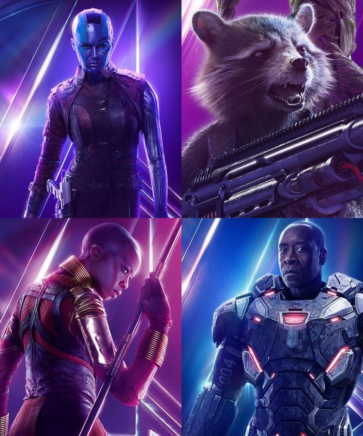 """Một số ít siêu anh hùng còn sống sót sau thảm hoạ """"kế hoạch hoá dân số"""" của Thanos."""